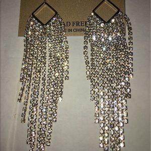 Natasha Crystal Chandelier Earrings